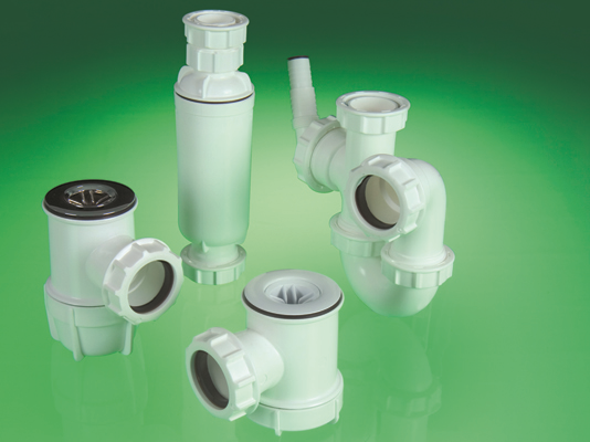FloPlast Waste Pipe Traps