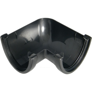 FloPlast Cast Iron Effect High Capacity Gutter 90° Corner