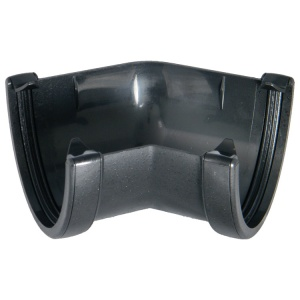 FloPlast Cast Iron Effect High Capacity Gutter 135° Corner