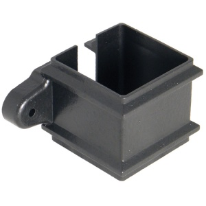 FloPlast Cast Iron Effect 65mm Square Downpipe Clip