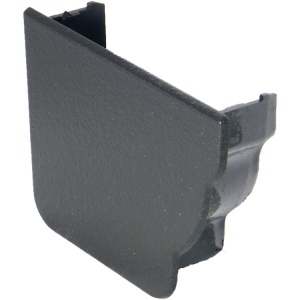 FloPlast Cast Iron Effect Niagara Ogee Gutter Left Hand Internal Stop End