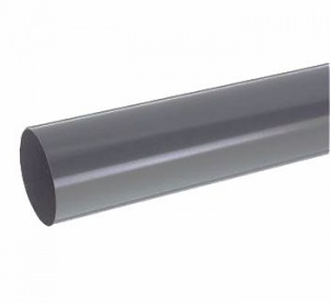 Floplast Anthracite Grey Round Downpipe 68mm - 2.5Mtr
