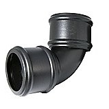FloPlast Cast Iron Effect Soil Pipe 92.5° Double Socket Bend