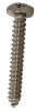 4mm x 30mm Stainless Steel Self Tapping Pan Head Screws - approx 100