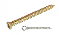 82mm x 7.5mm Masonry Frame Screws - approx 100