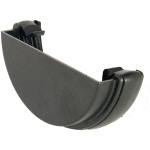 FloPlast Cast Iron Effect Half Round External Stopend