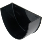 FloPlast Cast Iron Effect High Capacity Gutter Internal Stop End