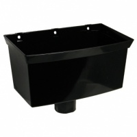 Universal Rainwater Hopper for Square or Round Downpipes