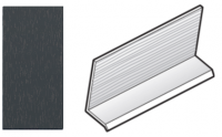 FloPlast Anthracite Grey Cladding Drip Trim - 5m length