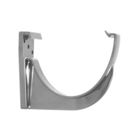 FloPlast Anthracite Grey Guttering High Capacity Bracket