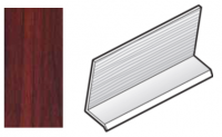 FloPlast Rosewood Cladding Drip Trim - 5m length